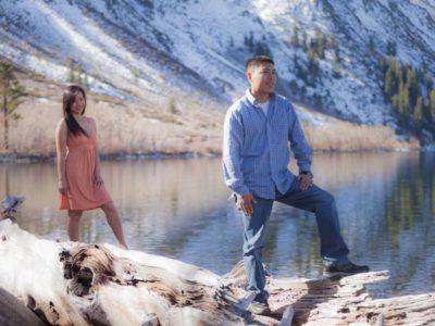 Matt & Farm Convict Lake, Engagement